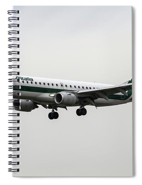Alitalia Embraer 190 Spiral Notebook