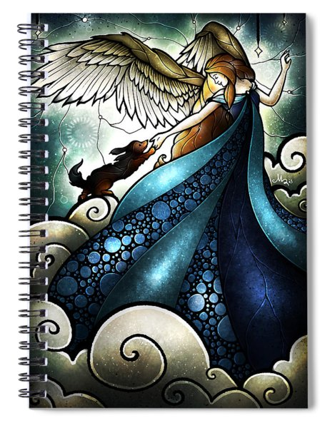 All Dogs Do Go To Heaven Spiral Notebook