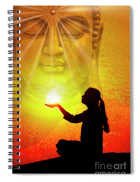 All Is One Spiral Notebook by Tim Gainey