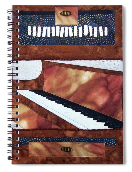All That Jazz Piano Spiral Notebook