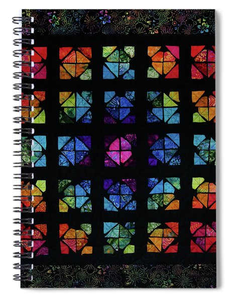 All The Colors Spiral Notebook