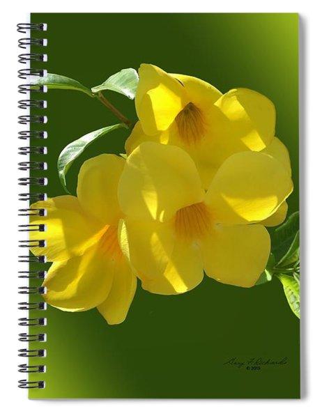 Allamanda Splendor Spiral Notebook