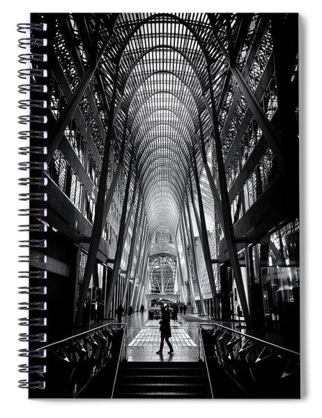 Allen Lambert Galleria Toronto Canada No 2 Spiral Notebook