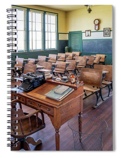 Allensworth School House - Allensworth State Park Spiral Notebook