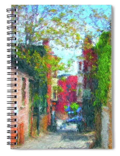 Alleyway Spiral Notebook