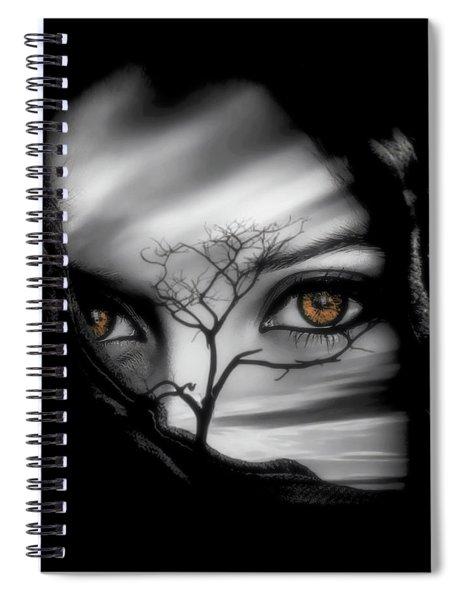 Allure Of Arabia Spiral Notebook