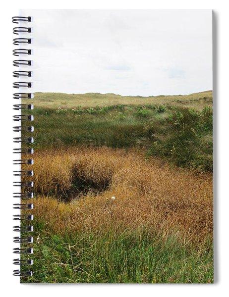 Along A Path Near De Muy On Texel Spiral Notebook