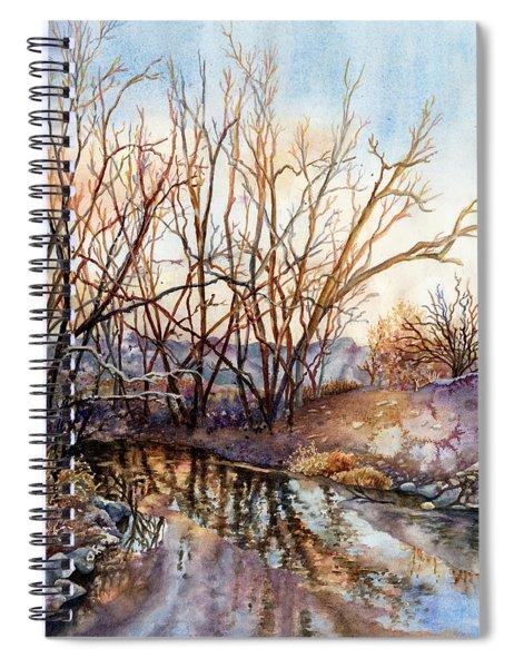 Along Boulder Creek Spiral Notebook