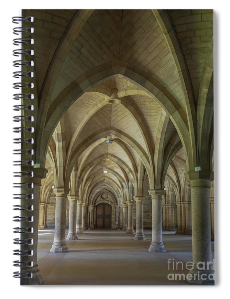 Along The Cloisters Spiral Notebook