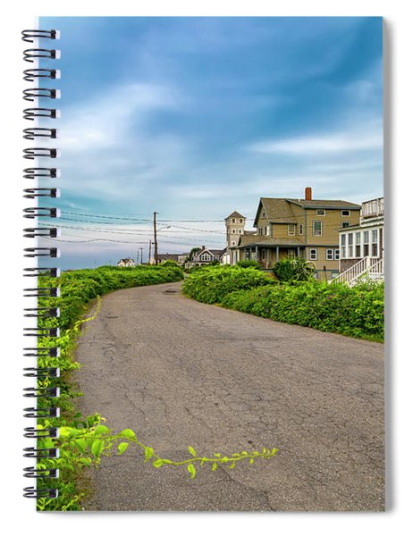 Along The Coast Maine Spiral Notebook