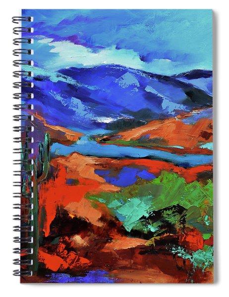 Along The Trail - Arizona Spiral Notebook