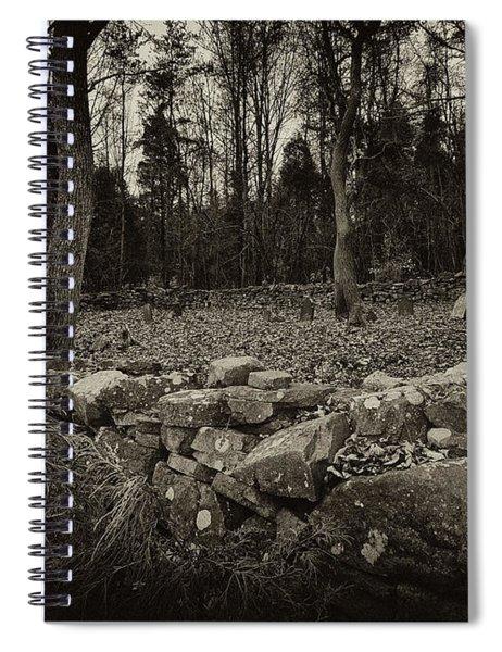 Alpine Benders Cemetery Spiral Notebook