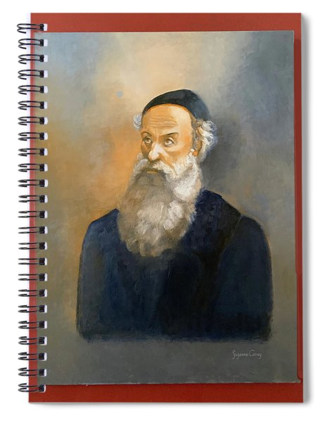 Alter Rebbe Schneur Zalman Spiral Notebook