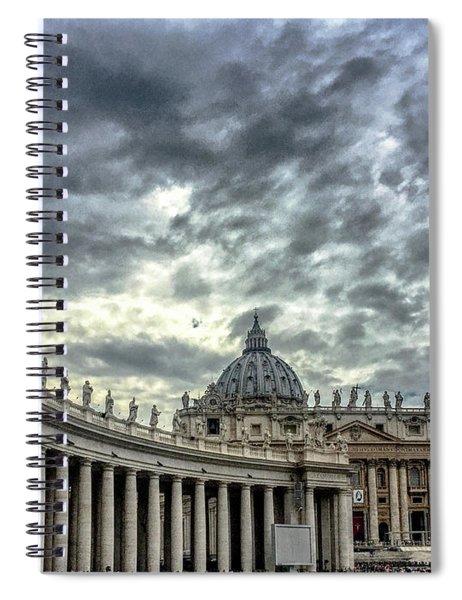 Always A Crowd Spiral Notebook