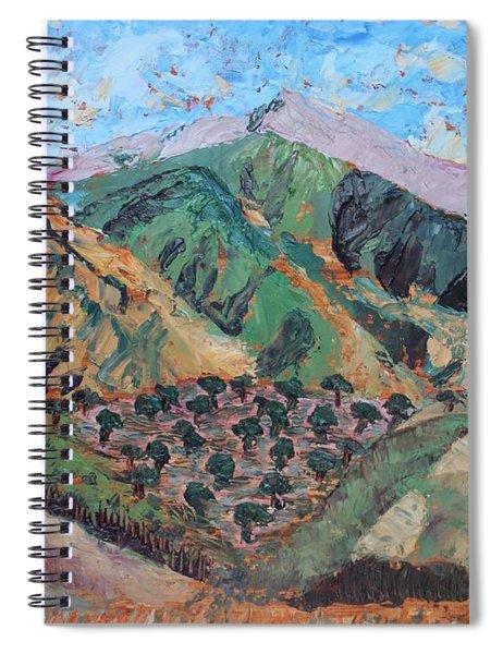 Amanda's Canigou Spiral Notebook