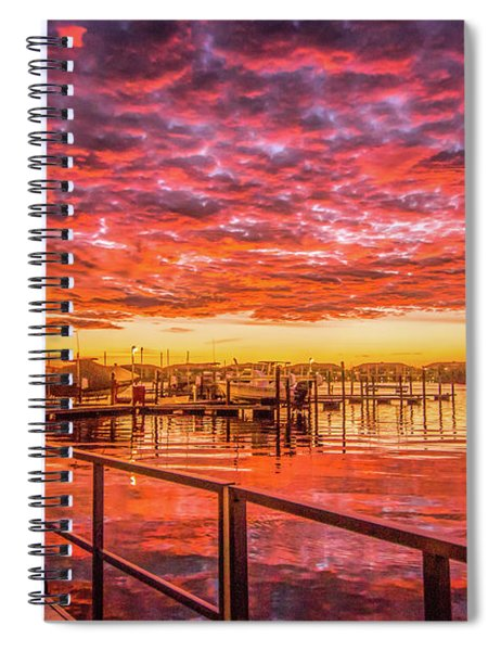 Amazing Sunrise Spiral Notebook