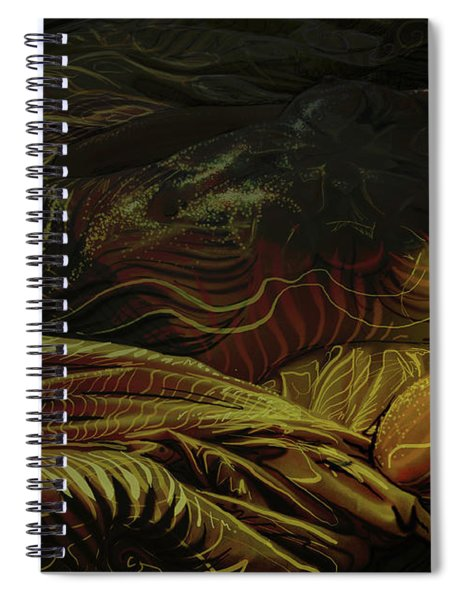 Amber Light Spiral Notebook