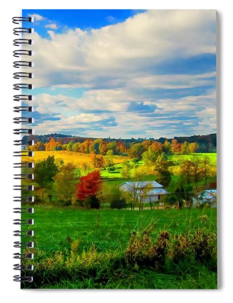Amish Farm Beauty Spiral Notebook