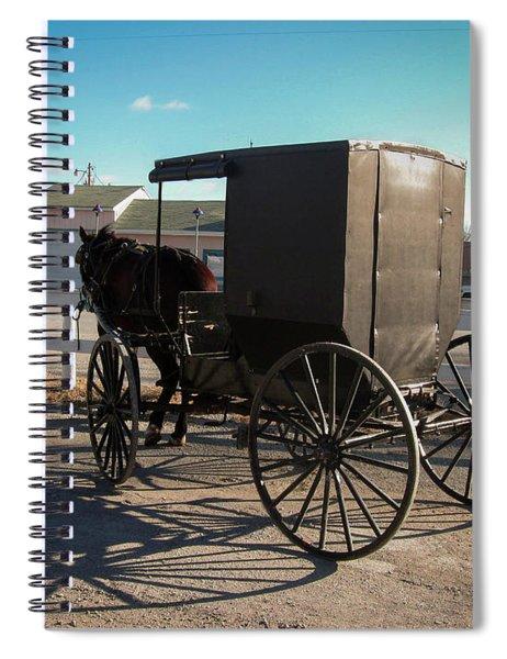 Amish Transportation Spiral Notebook