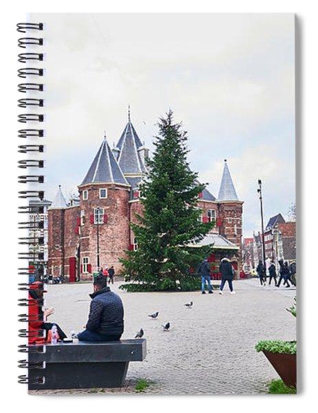Amsterdam Christmas Spiral Notebook