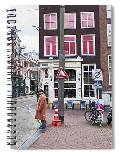Amsterdam Pride Spiral Notebook