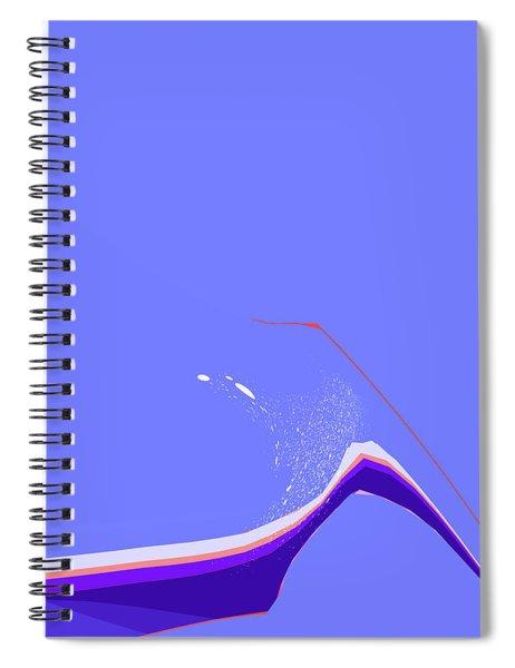 Amuse Bouche Spiral Notebook by Gina Harrison