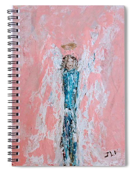 Amy's Angel Spiral Notebook