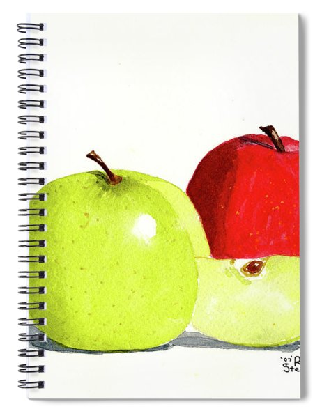 An Apple A Day Spiral Notebook