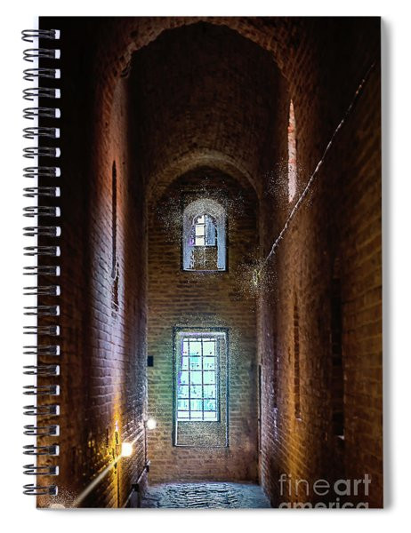 An Entrance To The Casemates Of The Medieval Castle Spiral Notebook
