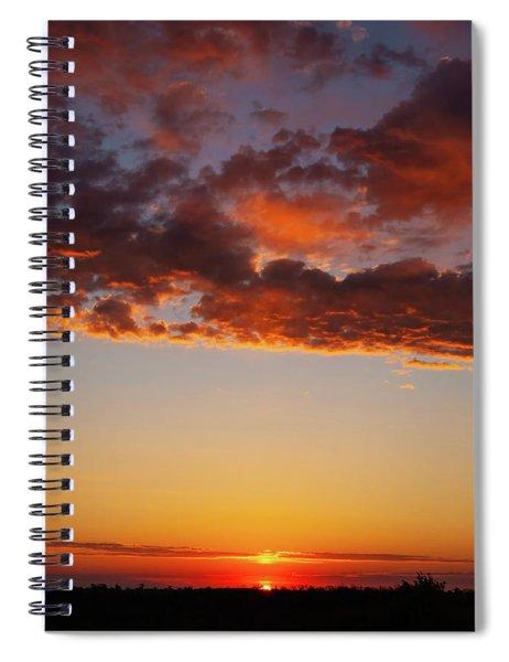 An Oklahoma Sunsrise Spiral Notebook