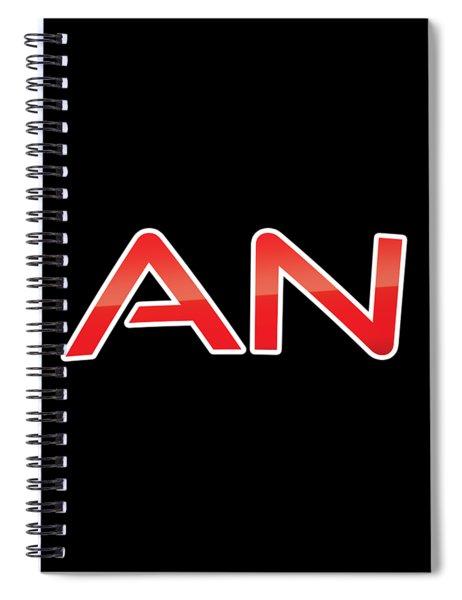 An Spiral Notebook