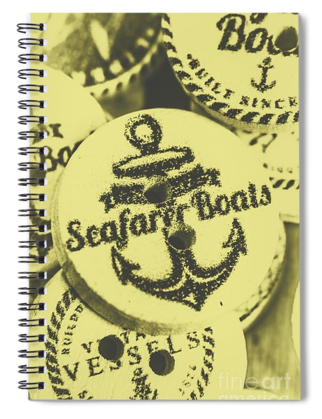 Anchorage At The Old Corkscrew Inn Spiral Notebook
