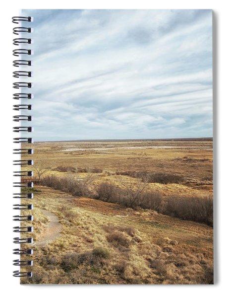 And Followed 'em Far O'er The Western Frontier Spiral Notebook