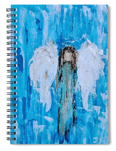 Angel Among Angels Spiral Notebook