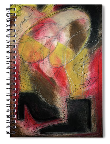 Angel At The Beach Spiral Notebook