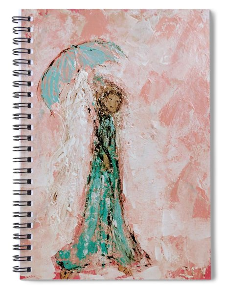 Angel By Your Side Spiral Notebook