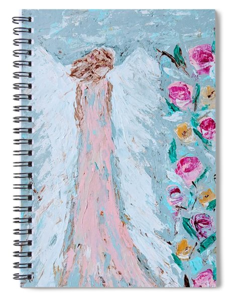 Angel For Childbirth And Spiral Notebook