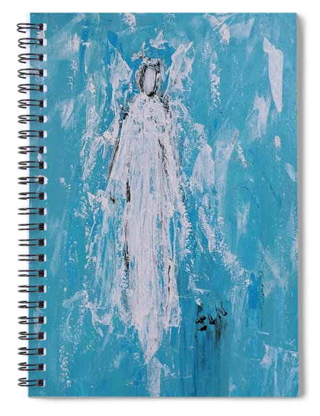 Angel For Grievance Spiral Notebook