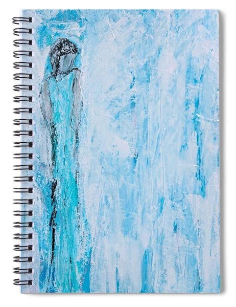 Angel Of Dreams And Hope Spiral Notebook
