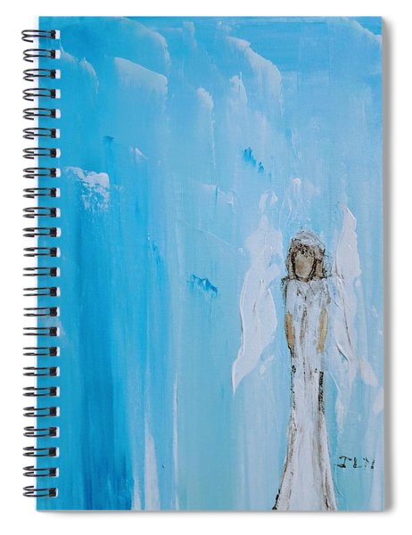 Angel Of Simplicity Spiral Notebook