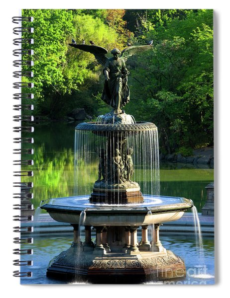 Angel Of The Waters II Spiral Notebook