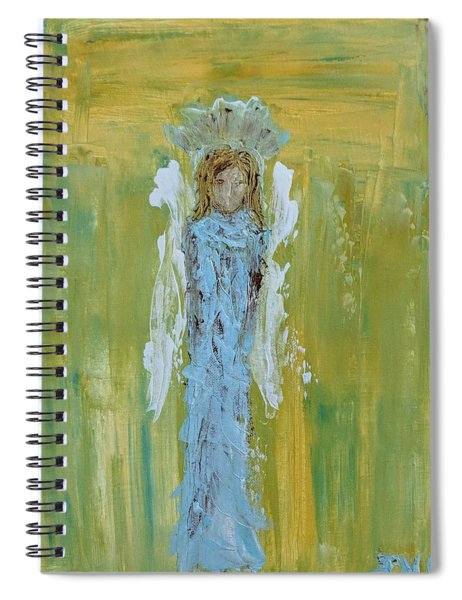 Angel Of Vision Spiral Notebook