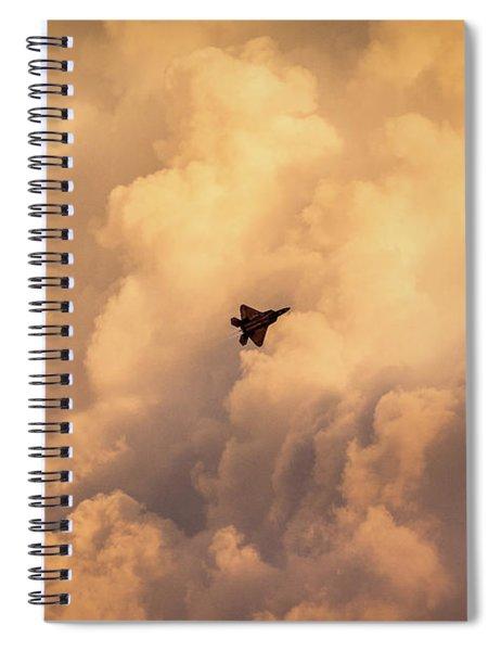 Angel On Assignment Spiral Notebook