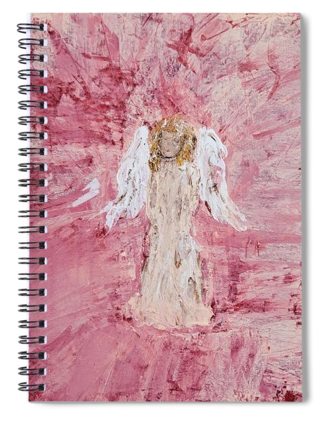 Angel Was Lost But Now Is Found  Spiral Notebook