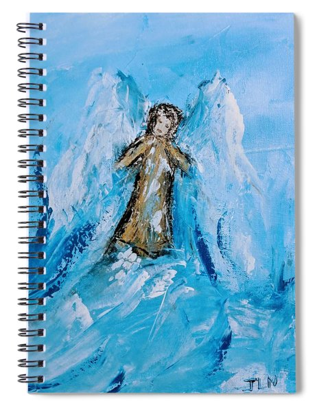 Angel With A Purpose Spiral Notebook