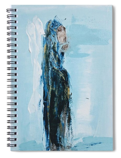 Angel With Child Spiral Notebook