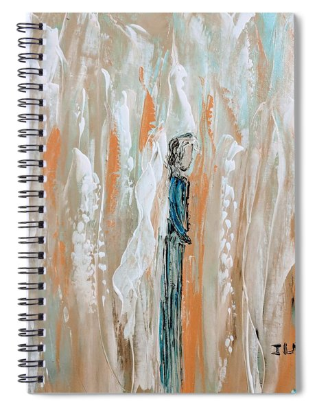 Angels In The Midst Of Every Day Life Spiral Notebook