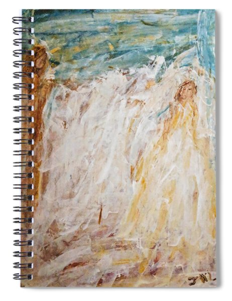 Angels Of Peace Spiral Notebook