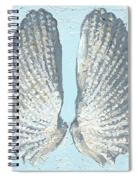 Angelwing Shell Spiral Notebook