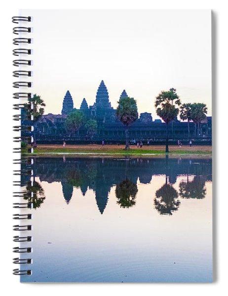 Angkor Wat Reflections Spiral Notebook